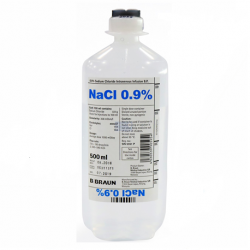 Sodium Chloride 0.9% IV Infusion 1000ml, 10 bottles/carton