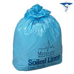 Cosmo Med HDPE Laundry Bag-Blue, 22.5