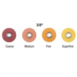 3M Sof-Lex™ Extra Thin Contouring and Polishing Discs 3/8