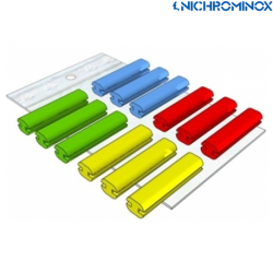 Nichrominox Silicone Indicator strips,21mm, 12pieces/pack