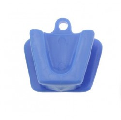 Rubber Mouth Support with Chain, Medium (2pcs)