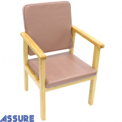 Assure Rosewood wooden Health care chair