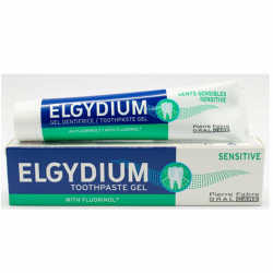 Elgydium Sensitive Toothpaste 75ml ( X 8 Packs )
