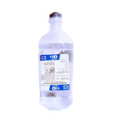 B Braun Dextrose 10% 500ml/bottle, 10bottles/ct