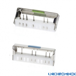 Nichrominox Bur Flash Holder with 10-holes