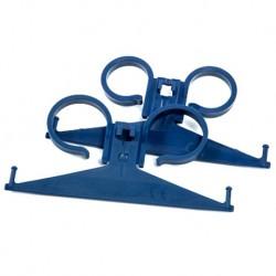Cosmo Med Plastic Urine-bag Hanger, Blue (25pcs/case)