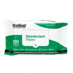Medipal Disinfectant Wipes, 200pieces/pack
