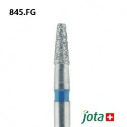 Tapered Fissure Diamond Bur, FG, 5pcs/pack (845.FG)