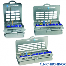 Nichrominox Stainless steel Ultralight Endo Holder/Box