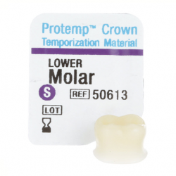 3M Protemp™ Crown Temporization Material Lower Molar (5pcs/Kit)