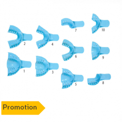 Disposable Dental Impression Trays (12 pcs/pack) (*Promotion 1+1)