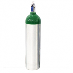 Assure Oxygen cylinder D Size with oxygen, 415L