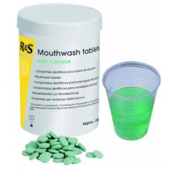 R&S Mouthwash Mint Flavour tablets - Green (1000 tablets/box)
