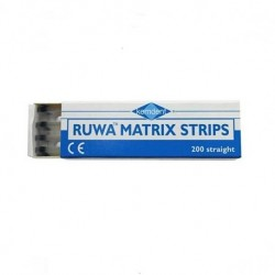 Ruwa Matrix Strips, Straight, 8mm (200 pcs/box)