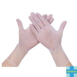 Labskins Vinyl Synthetic Examination Gloves Powder-Free, Per Box