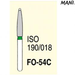 MANI Diamond Bur Flame Shaped FO-54C (5pcs/pack)