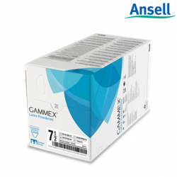 Ansell Gammex Smart Pack Latex Powdered Surgical Gloves (Box of 50)