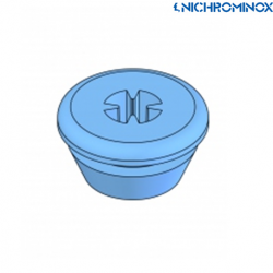 Nichrominox Silicone tubes for bur holder 6pieces/pack