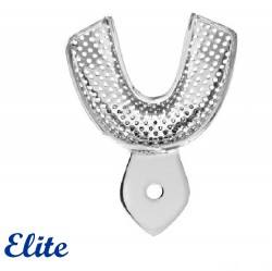 Elite Imp.Tray Lower Size: L (Perforated) Dentulous