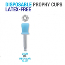 Premium Plus Prophy Cups (Latex Free) 144pcs/pack #252