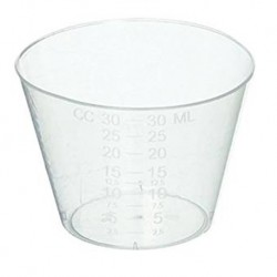 Medicine Cup with measurement, 30ml (Pack/100s)
