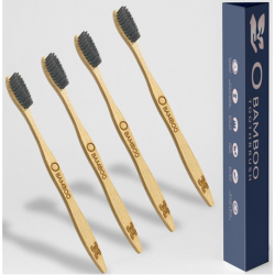 O Bamboo Toothbrush with Soft Bristles